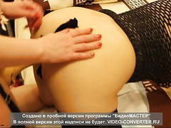 Strapon in the ass with stockings)) movies