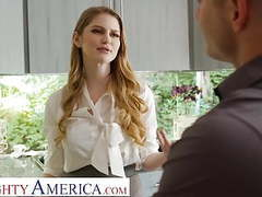 Naughty america real estate agent bunny colby fucks to close movies at freekilosex.com