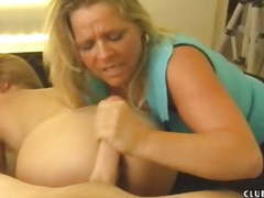 Milf masturbates big dick with her neighbour movies at find-best-mature.com