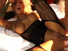 Real german hooker anni pay for privat group with 5 stranger movies at freekiloclips.com