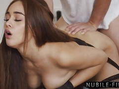 Stunning spaniard ginebra belluci passionately pounded movies