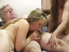 Chubby silverdaddy with two girls movies at find-best-ass.com