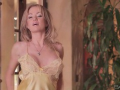 Big breasts angela sommers in satin lingerie movies at lingerie-mania.com
