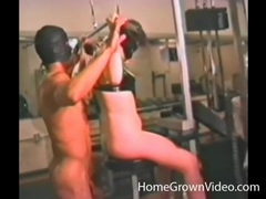 Masked couple in naughty rimjob action movies at kilovideos.com