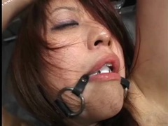 Cute japanese girl oiled up and lightly abused videos