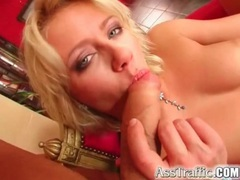 Blue eyed blonde fucked in the asshole videos