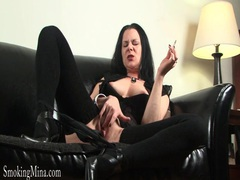 Smoking girl in thigh high knit socks movies at find-best-ass.com