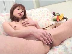 Young miina yoshihara masturbates solo movies at sgirls.net