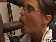 Experienced cheyenne hunter milks a bbc dry. movies at sgirls.net