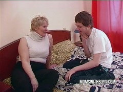 Bbw mature mom seduces sons friend videos
