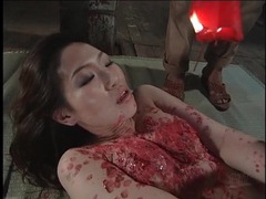 Japanese girl craves hot wax on her body movies at sgirls.net