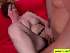 Mature stockings brit getting plowed videos