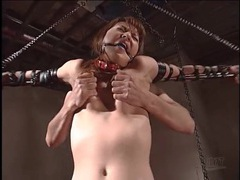 Kinky japanese bondage video with nip pulling videos