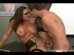 Slutty sky taylor fucked in stockings and glasses videos