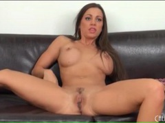 Solo abigail mac masturbates with pink dildo movies at freekilomovies.com