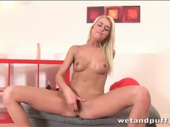 Masturbating blonde squirts hard in pussy play movies at find-best-pussy.com