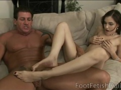 Sasha grey footjob and deepthroat blowjob videos