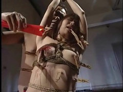 Mummified japanese girl stripped and toyed videos