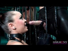 Two guys bang liza del sierra in leather videos