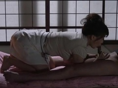 Cocksucking japanese girl tied up and stripped videos
