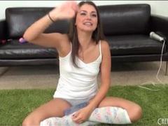 Cute girl allie haze in a striptease video movies at kilosex.com