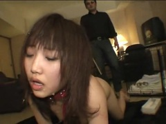 Painful flogging for submissive japanese girl tubes at lingerie-mania.com