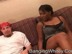 Black cocksucker on her knees in hotel room movies at kilosex.com