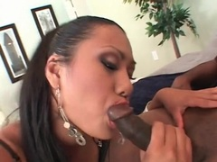 Slutty looking asian sucks black dick sensually tubes at korean.sgirls.net