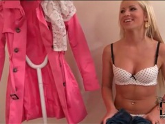 Kiara lord strips for a sexy photo shoot movies at lingerie-mania.com