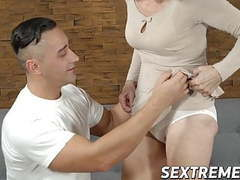 Mature lady seduces a young dude and lets him bang her cunt movies at find-best-videos.com