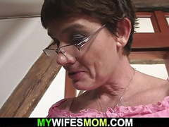 Son in law fucks her old hairy cunt and gets busted movies at find-best-pussy.com