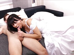 German milf bride get last cheating fuck short for wedding movies at kilovideos.com