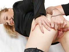 Pussy gaping of horny granny movies at find-best-panties.com