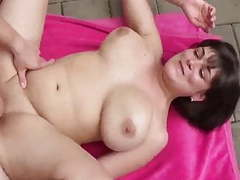 Her first creampie from neighbor movies at freekiloclips.com