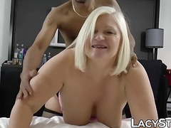 Busty uk gilf impaled on big black cock and drilled hard movies