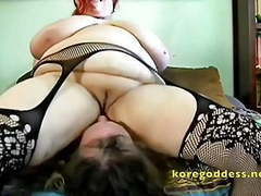 Sissy drinks the squirt of his huge tits domme movies at find-best-hardcore.com
