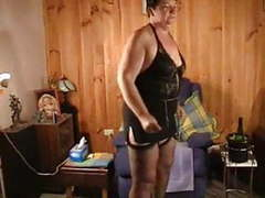 Granny in sexy outfit videos