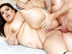 Mexican bbw bella bangz gets a passionate anal pounding movies at kilogirls.com