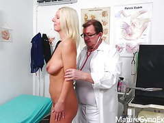 Hot girl luci angel on her gyno exam movies at kilovideos.com