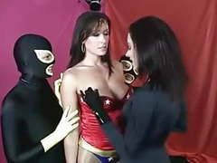 Superheroines humiliation movies
