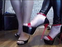 High heels walking for two ladies movies at nastyadult.info