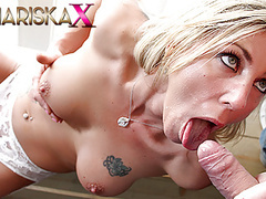Mariskax blonde milf nikky clarisse takes it in her ass movies at find-best-babes.com