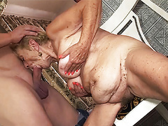 Sex with a 89 years old grandma movies at kilogirls.com