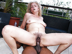 Hairy 72 years old granny first time interracial movies at kilogirls.com