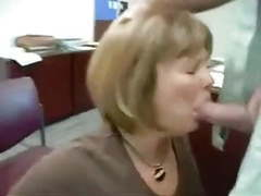 Real secretary eats cum from her boss movies at freekiloporn.com