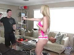 Older stepmom to be dominated by young stepson movies at freekiloclips.com
