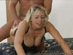 German granny double fucked movies at freekiloclips.com