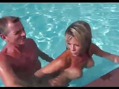 Sabrina french milf pool (no sound, poor quality...) movies at find-best-babes.com