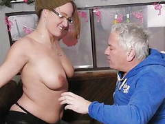 German amateur gets fucked by an old guy movies at find-best-pussy.com