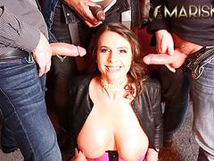 Mariskax interracial gangbang with busty babe sexy susi movies at kilomatures.com